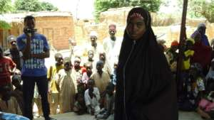 Firdausi the women leader and advocate in Amarzaka