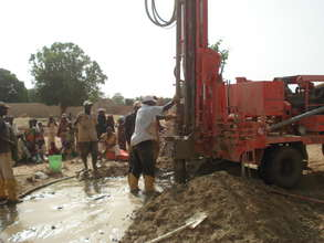 First Strike of water in Gadan