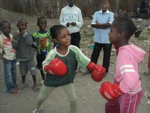 Boxgirls project participants
