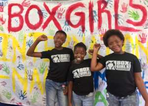 Boxgirls - advocating for women's rights
