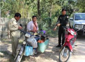 Trafficker hoarding 129 animals ambushed