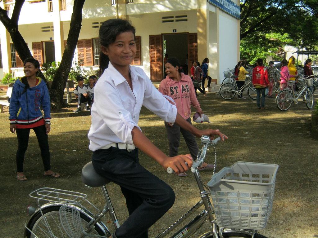 100 Bikes for 100 Girls