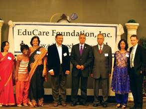 Me at the Educare Foundation Fundraiser
