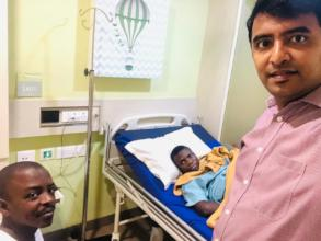 #3: Merci in Chennai Hospitals after his surgery