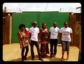 AdvocAid team at Freetown Female Prison