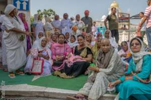 Widow Mothers visit Golden Temple