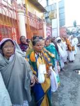 Widow mothers- Haridwar