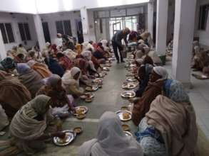 For better Nutrition of Widow Mothers