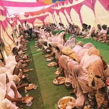 Special mid day meal served at Maitri Ghar - 2