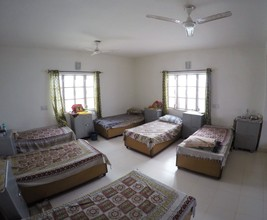 Dormitory in Maitri's 2nd old age home