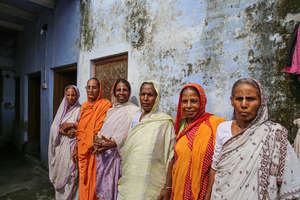 Some of the widow mothers under Maitri's care