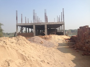 Old Age Home Construction Site