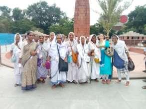 Widow Mothers visit Jallianwala Bagh, Amritsar