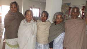 Few of the resident widows at Maitri Ghar