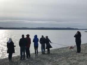 Nov. whale watchers, Vashon Isl A. Lemire Brooks