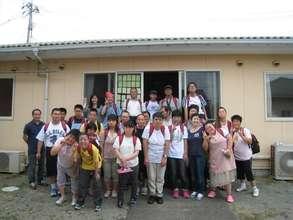 Training Participants at Futaba-no-Sato