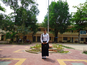 Loeun Chantha at School!