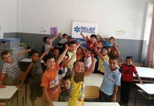 Syrian kids back to their studies thanks to you!