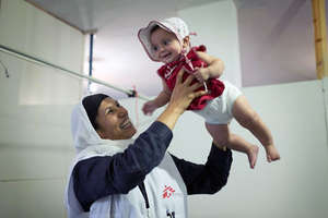 Newborn in Syria