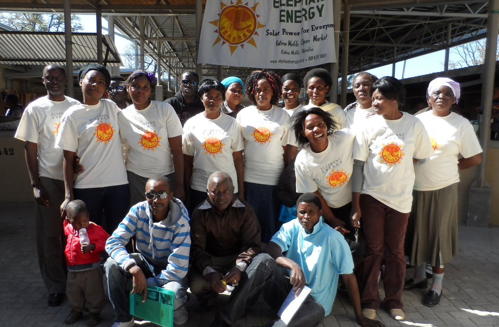Equip 15 new energy entrepreneurs in rural Namibia