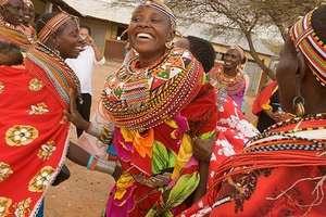 Samburu Women in Umoja, Kenya