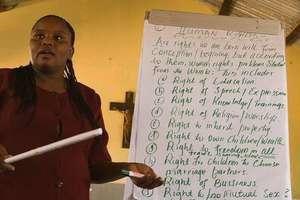 A Kenyan Trainer Talks about Women's Human Rights