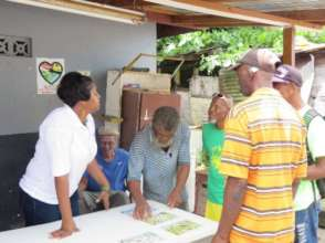 Discussing seabird conservation with fisherfolk.