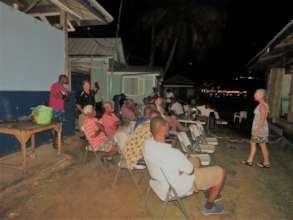 Communities provide input on a conservation plan.