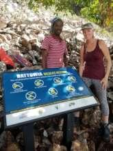 Team members installed signs on Wildlife Reserves.