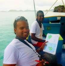 Volunteer Patrol members with survey maps