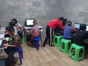 Our computer classes are still very popular