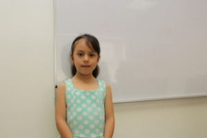 Camila, Christel House Mexico 2nd grade student