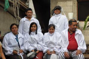 Santiago beekeepers in January 2020