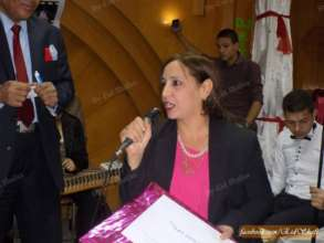 Valuable Girl Project's Aida Abdou is honored