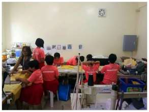 Sewing their way to empowerment