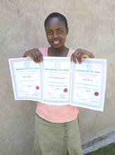 Mary Keruta wins top school honors