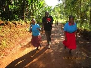 AAH races in Uganda & U.S. raised funds