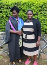 Co-founder Joyce at UCU graduation ceremony