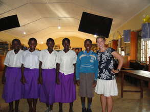 Mentoring Girls from nearby schools