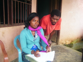Counselling withgrateful Parent of YEP beneficiary