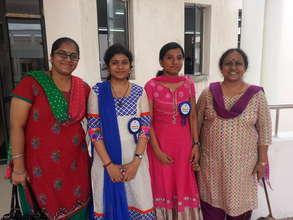 Pondicherry - with student volunteers