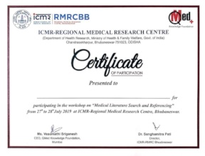 Matter of pride -  ICMR & QMed logos together!