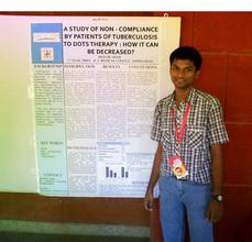 Bhavik Shah's poster at Medicon