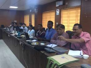 Workshop for researchers of the ICMR