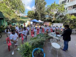 30 street youths attends their recognition day