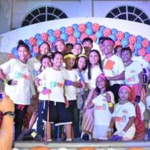Ms. Poe together with the street children