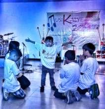 Interpretative dance by street children
