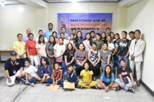 EAP scholars during the Moving Up Ceremony