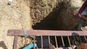 Our efforts to overcome the water difficulties