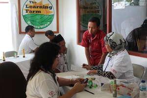 Community service - organizing medical check up
